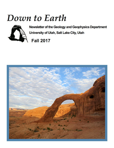 Down to Earth newsletter - Fall 2017