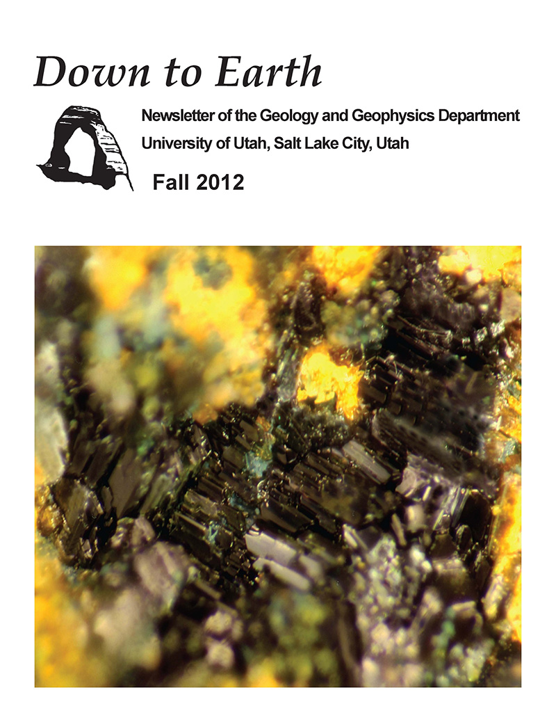 Down to Earth newsletter - Fall 2012